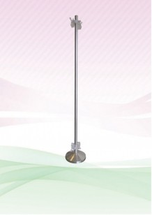 Clip Pole – (Non-Adjustable) Stainless Steel
