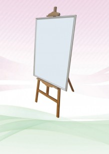 Bamboo Easel Stand