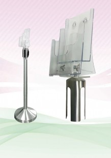 Q-Stand Stainless Steel Socket come with Acrylic Holder