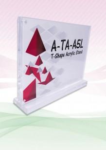 Acrylic T-Shape Stand
