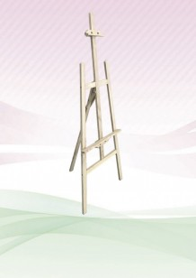 Economy Wooden Easel Stand