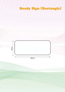 Ready Sign (Rectangle)