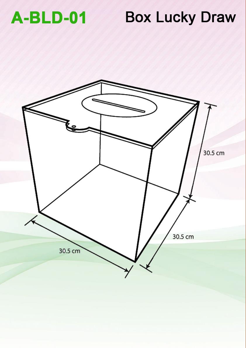 Box Lucky Draw Botak Sign Pte Ltd